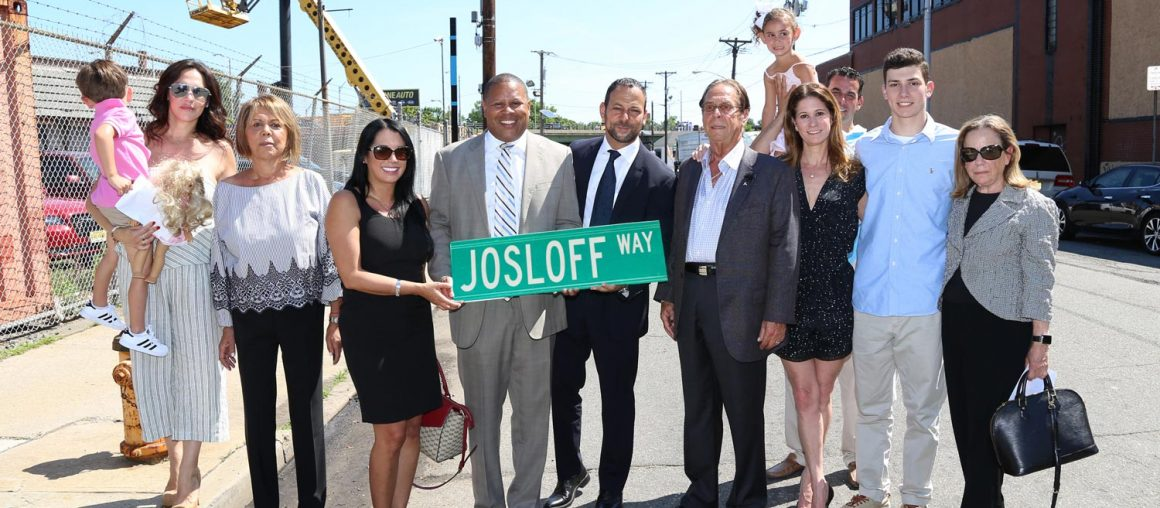The City of Newark names Josloff Way